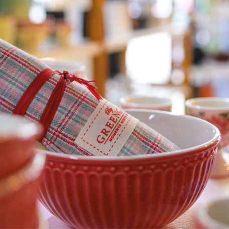 Greengate  verschiedene Artikel, Tisch dekore und Tassen